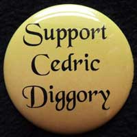 Support Cedric Diggory Pin