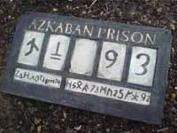 Azkaban Prison Sign