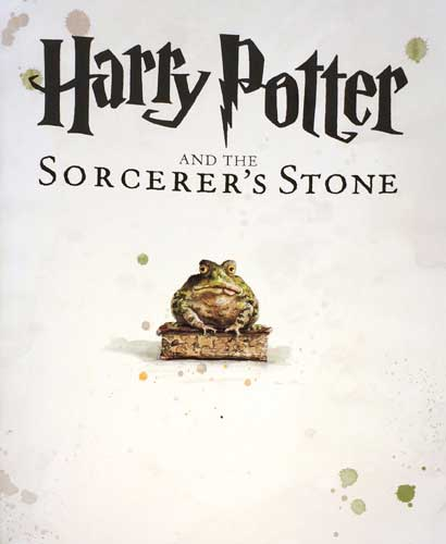 Jim Kay's First Page of the Illustrated Harry Potter and the Sorcerer's Stone