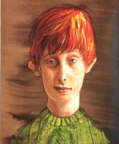 Jim Kay's Ron Weasley