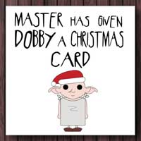Christmas Cards from Etsy for Harry Potter Fans