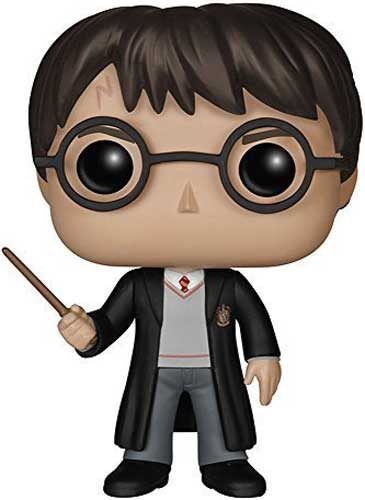 Harry Potter in Gryffindor Robe Funko Pop Figure