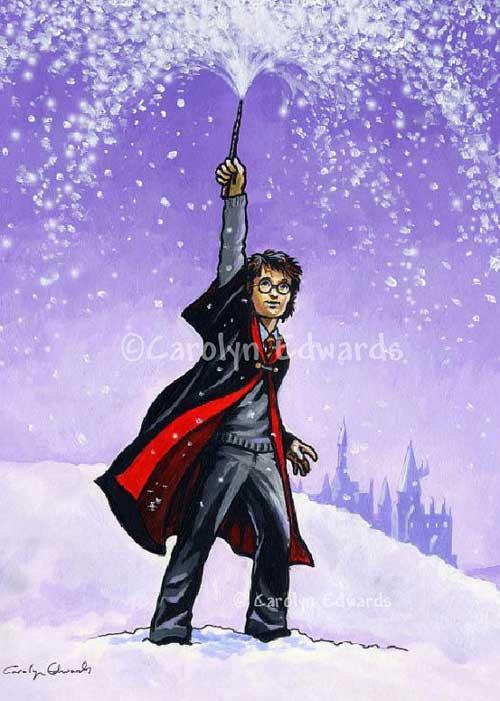 Let It Snow Card by SpiritedPortraits