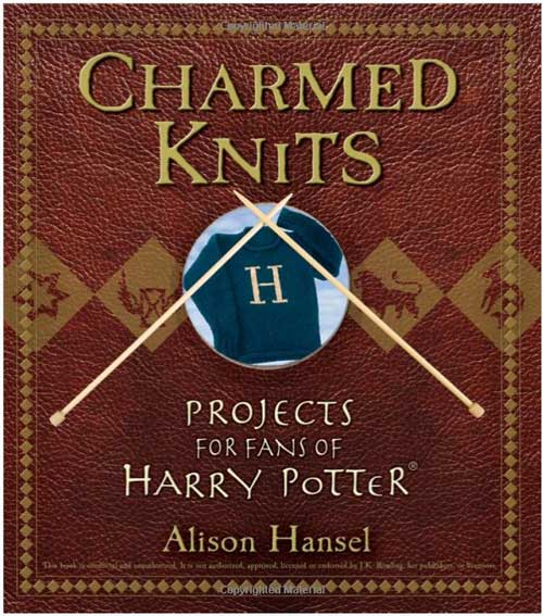 Front cover of the Charmed Knits book