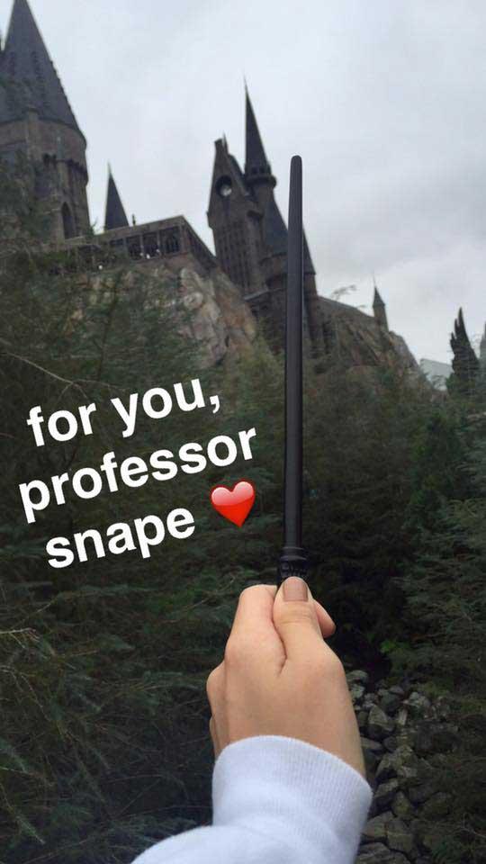 For You, Professor Snape