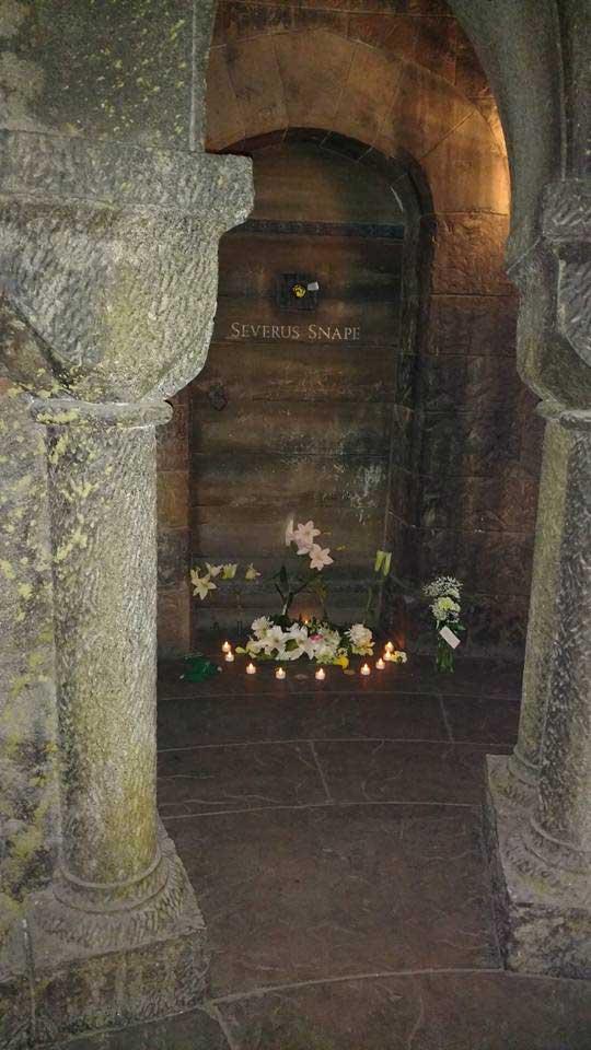 Memorial at Snape's Door