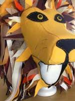 Lion hat for Luna Lovegood costume