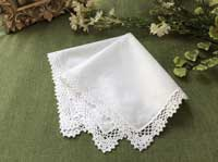 Lace handkerchief for a McGonagall costume