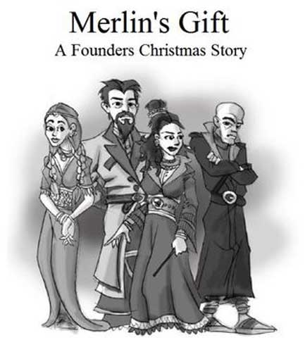 Merlin's Gift: A Founders Christmas Story