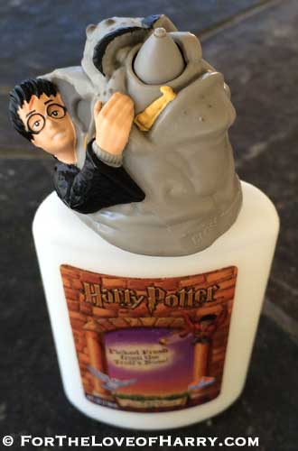 Looking down on the bottle of Harry Potter Troll Booger Glue