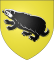 Badger Crest for Hufflepuff House