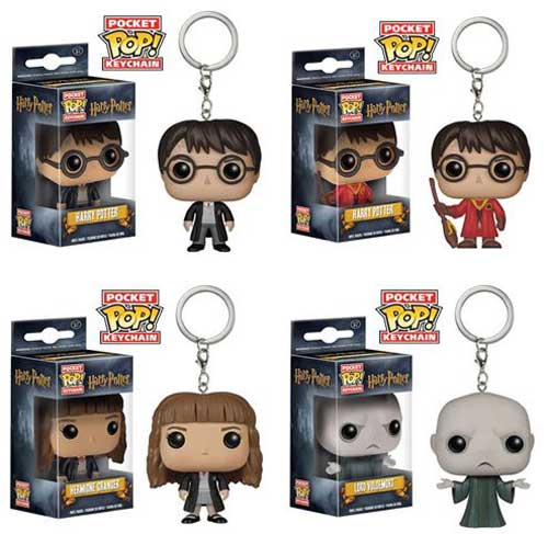 Harry Potter Funko Character Keychains