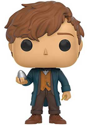 Newt Scamander with egg Funko Pop figure