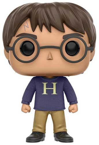 Harry Potter wearing Mrs. Weasley's sweater Funko Pop