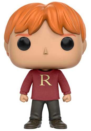 Ron Weasley wearing a sweater Funko Pop
