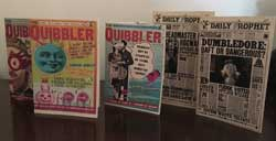 Issues of The Daily Prophet and The Quibbler
