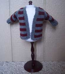 Knitted Gryffindor sweater
