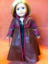 Tonks' coat for dolls