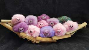 Add a Pygmy Puff for your Ginny costume