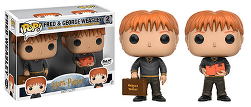 2 Pack of Fred And George Weasley