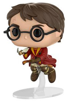 This is the 2017 San Diego Comic Con exclusive of Harry Potter flying on his broom and catching the golden snitch Funko Pop