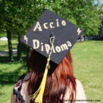 Harry Potter inspired ideas for decorating your graduation cap