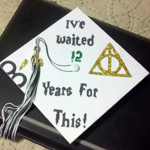 harry potter graduation cap decoration ideas for the of harry