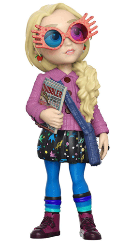 This is the Luna Lovegood Rock Candy Vinyl Funko