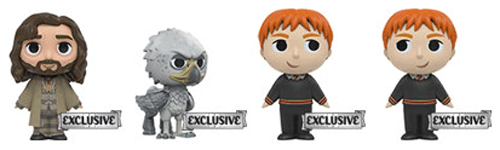 These are the second series of Harry Potter Mystery Minis, available for sale at Barnes & Noble.