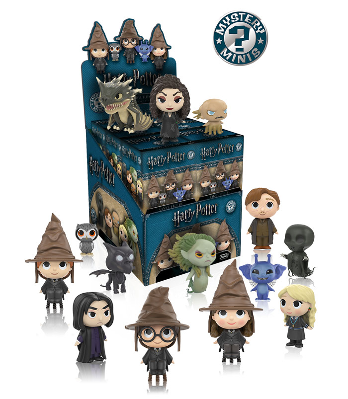 This is the second collection of Harry Potter Mystery Mini figures.