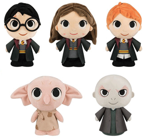 This is the first collection of Funko SuperCute Plushies, stuffed versions of Harry Potter characters.