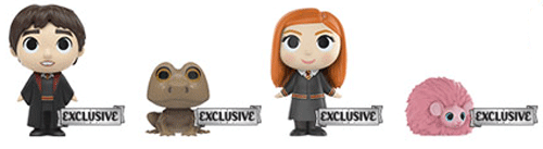 These are the second series of Harry Potter Mystery Minis, available for sale at Hot Topic.