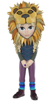 This is the 2017 New York Comic Con Rock Candy Funko exclusive of Luna Lovegood wearing a lion hat.