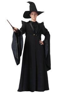 Replica of the outfit worn by Professor McGonagall, perfect for a McGonagall costume.