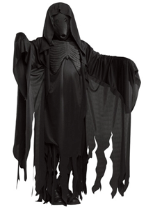 Replica of a Dementor's costume from the Harry Potter movies.