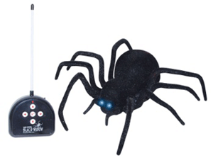 You can use this remote control spider with a Rubeus Hagrid costume.