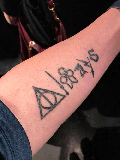 Awesome Harry Potter Tattoos For The Love Of Harry