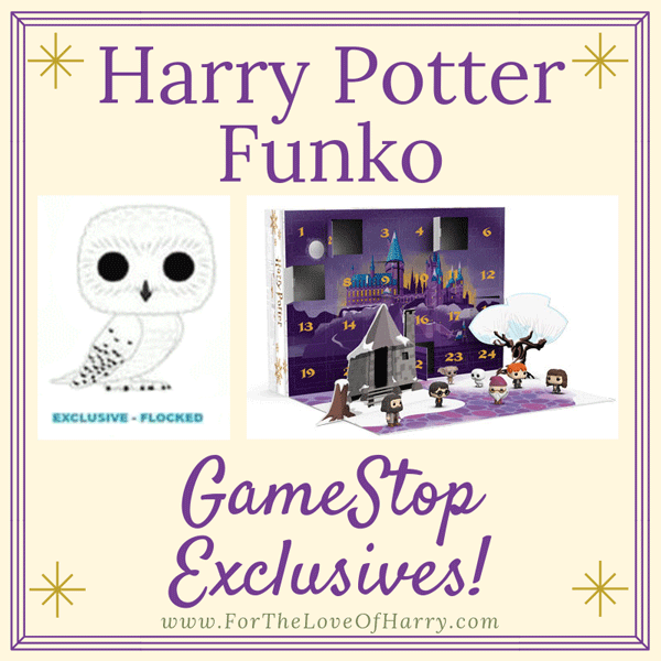 Harry Potter Advent Calendar.Gamestop Harry Potter Funko Exclusives Hedwig Advent For The