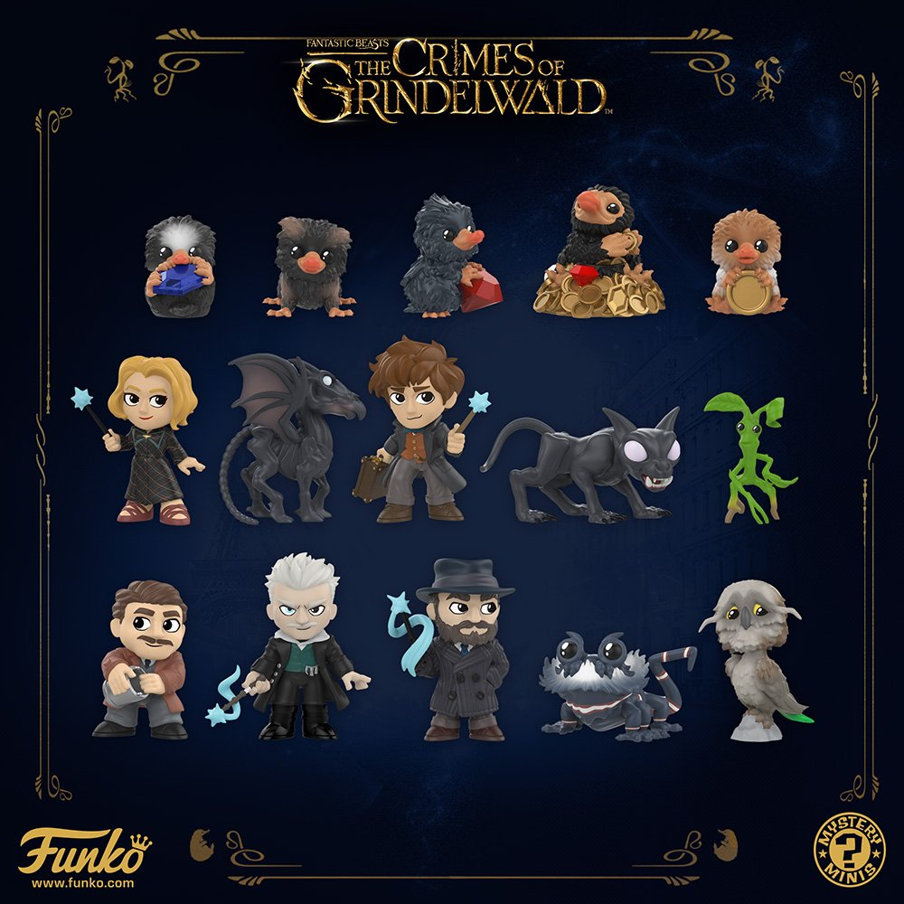 Fantastic Beasts 2 The Crimes Of Grindelwald Baby Nifflers Gift Idea Funko POP
